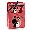 Custom Wedding Couples Coral - Personalized Bridal Shower Favor Boxes