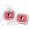 Custom Wedding Couples Coral - Personalized Bridal Shower Mint Tin Favors
