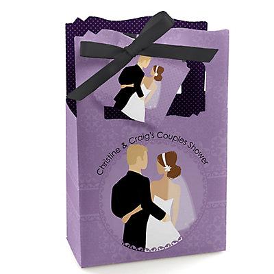 custom wedding couples purple