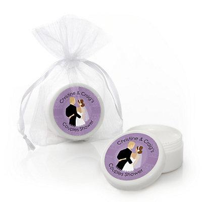 Custom Wedding Couples Purple - Personalized Bridal Shower L...