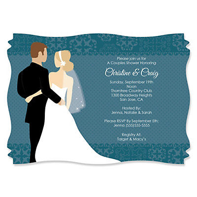 custom wedding couples teal