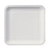 White - Baby Shower Dessert Plates - 18 ct