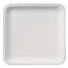 White - Birthday Party Dinner Plates 18 ct