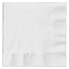 White - Bridal Shower Luncheon Napkins - 50 ct