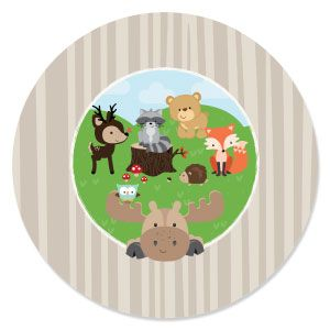 Woodland Creatures   Baby Shower Theme