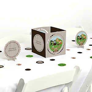 Woodland Creatures - Party Centerpiece & Table Decoration Kit