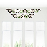 Woodland Creatures - Personalized Baby Shower Garland Banner