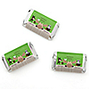 Woodland Creatures - Personalized Party Mini Candy Bar Wrapper Favors - 20 ct
