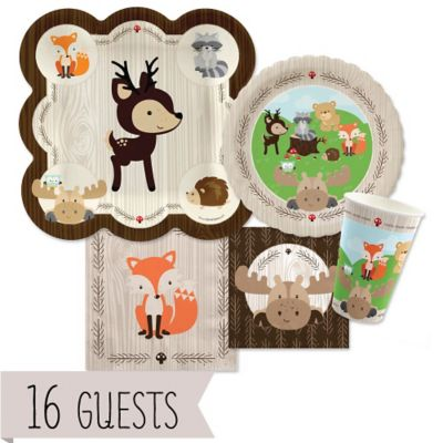Woodland Creatures   Baby Shower 16 Big Dot Bundle