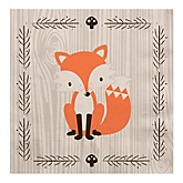 Woodland Creatures - Baby Shower Luncheon Napkins - 16 Pack