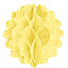 Yellow - Baby Shower Honeycomb Ball Decorations