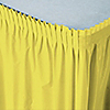 Yellow - Baby Shower Plastic Table Skirts