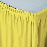 Yellow - Baby Shower Table Skirt