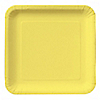 Yellow - Birthday Party Dinner Plates 18 ct