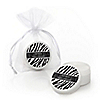 Zebra - Personalized Baby Shower Lip Balm Favors
