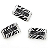 Zebra - Personalized Baby Shower Mini Candy Bar Wrapper Favors - 20 ct