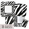 Zebra - Birthday Party 16 Big Dot Bundle