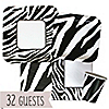 Zebra - Everyday Party 32 Big Dot Bundle