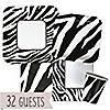Zebra - Birthday Party 32 Big Dot Bundle