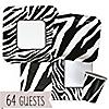 Zebra - Birthday Party 64 Big Dot Bundle