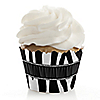Zebra - Birthday Party Cupcake Wrappers