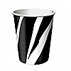 Zebra - Birthday Party Hot/Cold Cups - 8 ct