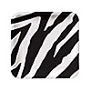 Zebra - Birthday Party Dessert Plates - 8 ct