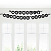 Zebra - Personalized Birthday Party Garland Letter Banner