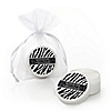 Zebra - Personalized Birthday Party Lip Balm Favors