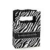 Zebra - Personalized Birthday Party Mini Favor Boxes