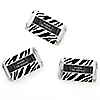Zebra - Personalized Birthday Party Mini Candy Bar Wrapper Favors - 20 ct