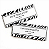 Zebra - Personalized Everyday Party Candy Bar Wrapper Favors