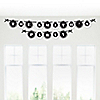 Zebra - Personalized Everyday Party Garland Letter Banner