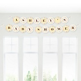 Zoo Crew - Personalized Baby Shower Garland Banner