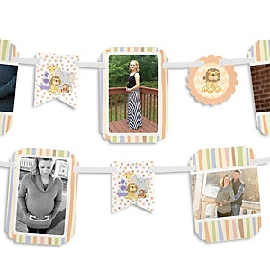Zoo Crew - Baby Shower Photo Bunting Banner