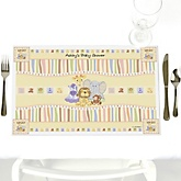 Zoo Crew - Personalized Baby Shower Placemats