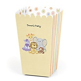 Zoo Crew - Personalized Party Popcorn Favor Boxes