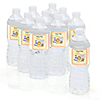 Zoo Crew - Personalized Baby Shower Water Bottle Label Favors