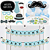 Dashing Little Man Mustache Party  - Custom Deluxe Birthday Party Decoration Kit