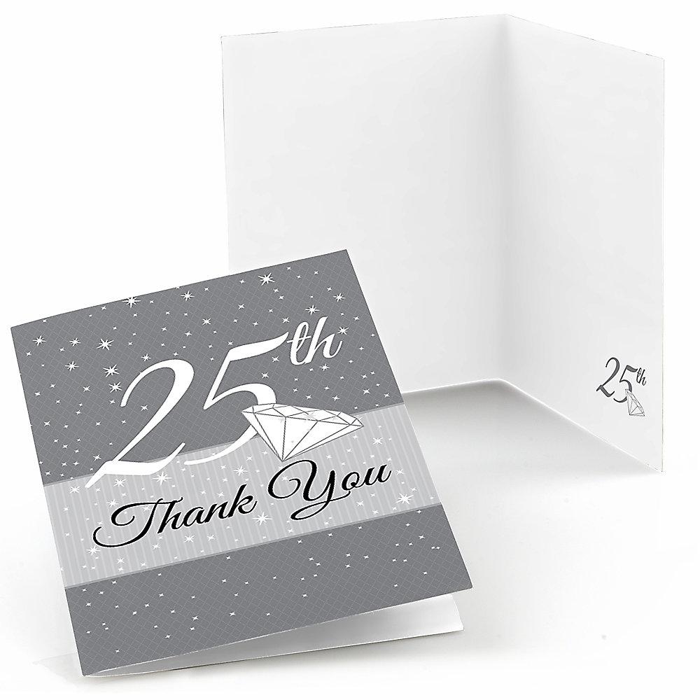 25th - Anniversary Theme | BigDotOfHappiness.com