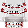 40th Anniversary - Personalized Anniversary Party Bunting Banner & Decorations