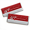 40th Anniversary - Personalized Wedding Anniversary Candy Bar Wrapper Favors