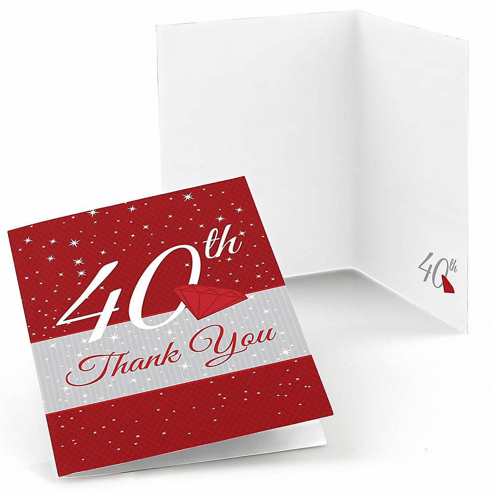 Anniversary Invitations   BigDotOfHappiness.com