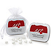40th Anniversary - Personalized Wedding Anniversary Mint Tin Favors
