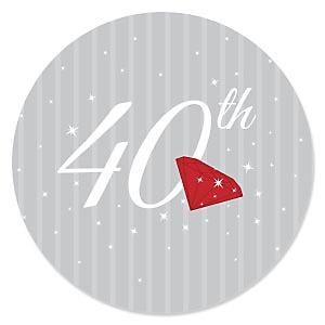 40th - Anniversary Theme