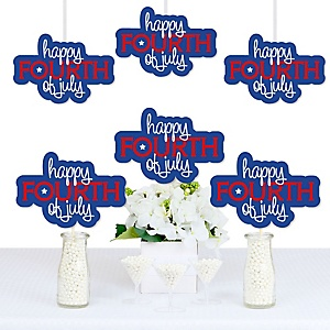 4th of July - Decorations DIY Independence Day Party Essentials - Set of 20