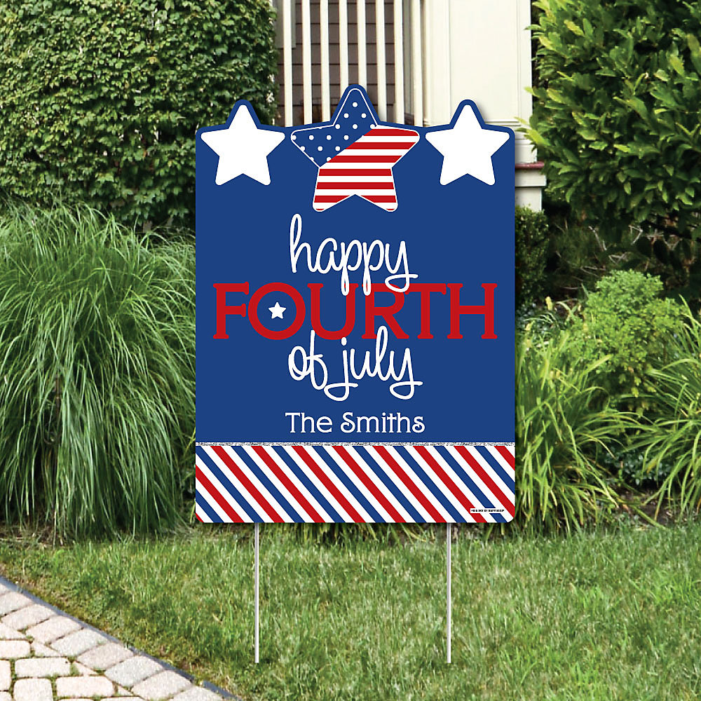 July 4th Of Party Decorations