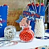 4th of July - Shaped Independence Day Paper Cut-Outs - 24 ct