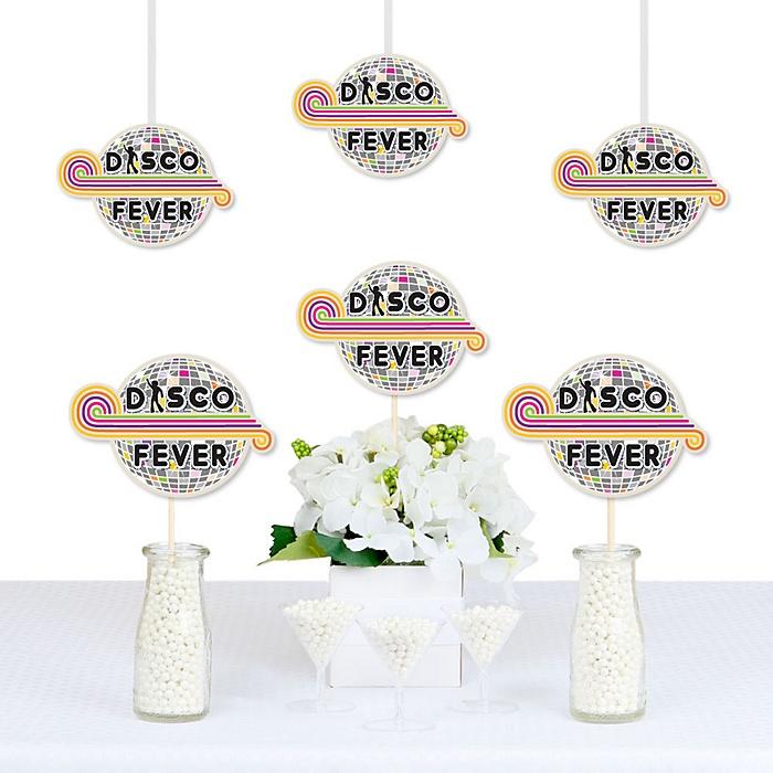 70's Disco - 1970s Decorations DIY Fifties Party Essentials - Set of 20