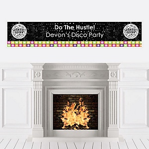 70's Disco - Personalized 1970s Party Banner